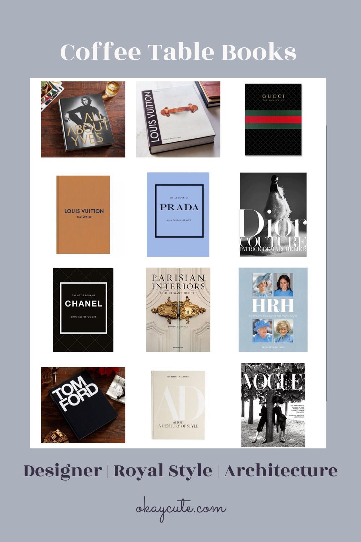 Designer Coffee Table Books Okay Cute